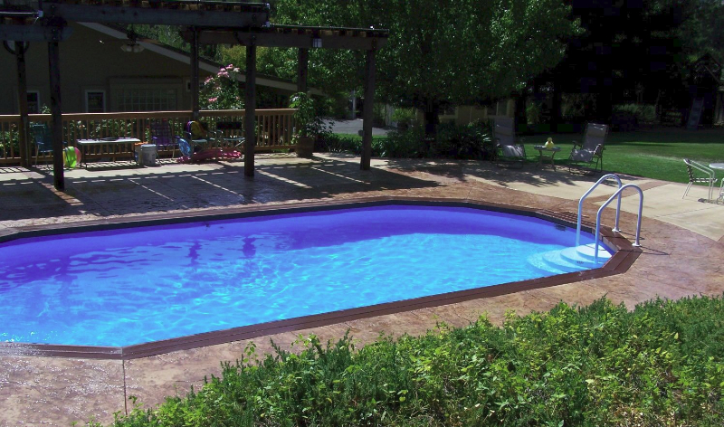 Inground pools the poolyard for 16x32 pool design